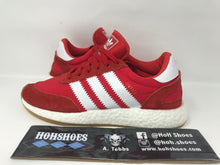 VNDS Adidas INIKI Runner Red White Brown BY9728 size 7