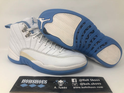 Air Jordan 12 XII Melo UNC 136001-142 size 10 with replacement box!