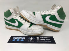 VNDS Nike Court Force Hi Green/White 314362-311 Size 10