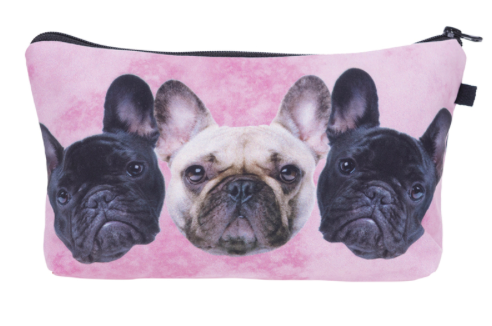 Pug-tastic makeup bag