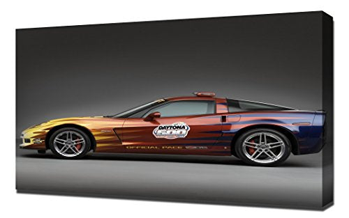 Chevrolet Corvette Daytona - Canvas Art Print - Wall Art - Canvas Wrap