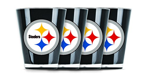 NFL Pittsburgh Steelers Shot Glass Set (4-Piece)