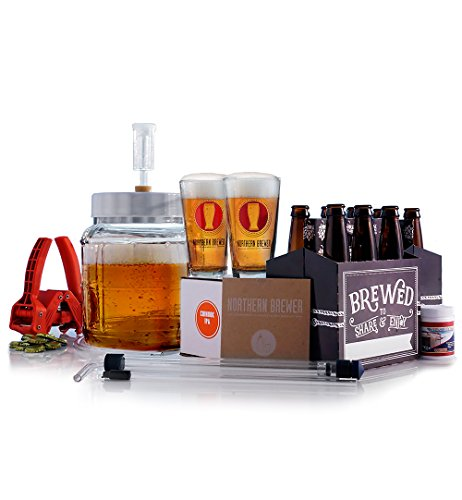1 Gallon Small Batch Brewing Starter Kit Chinook IPA  Recipe Kit
