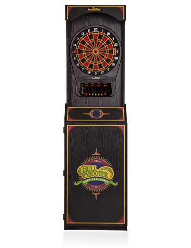 Arachnid Arcade Style Cabinet with Cricket Pro 650 Electronic Dart Game
