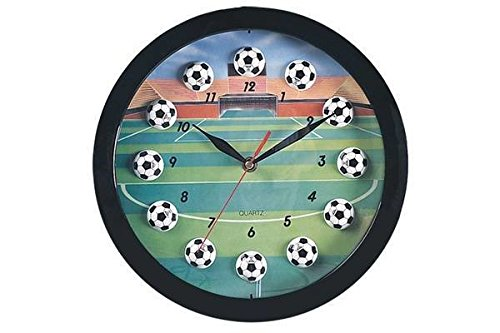 Soccer Sports Themed Collectible Wall Clock Decorative Hanging