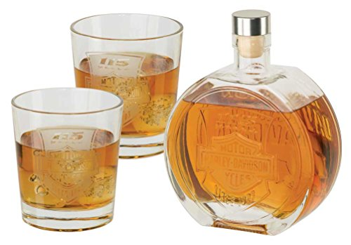 Harley-Davidson 115th Anniversary Limited Edition Decanted Set, 25 oz. HDX-98705