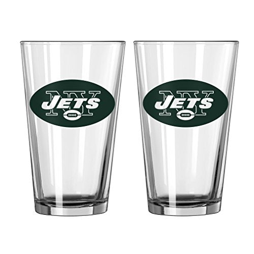 NFL New York Jets Game Day Pint, 16-ounce, 2-Pack