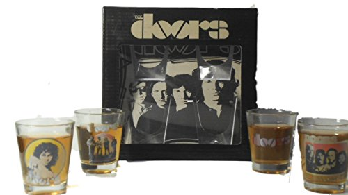 ROCK STARS – 4 PIECE 2 OZ SHOT GLASSES GIFT SETS