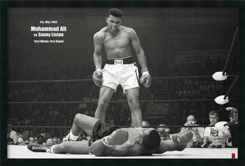 Framed Art Print, 'Ali - Liston Landscape': Outer Size 37 x 25