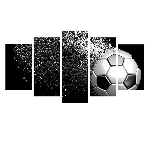Soccer Football Poster And Print Sports Canvas Wall Art