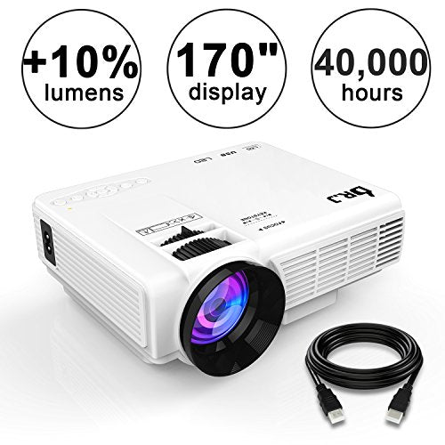 4Inch Mini Projector with 170