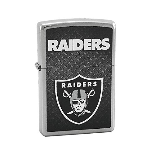 Custom Style Personalized Zippo Lighter NFL - Free Laser Engraving (Oakland Raiders)