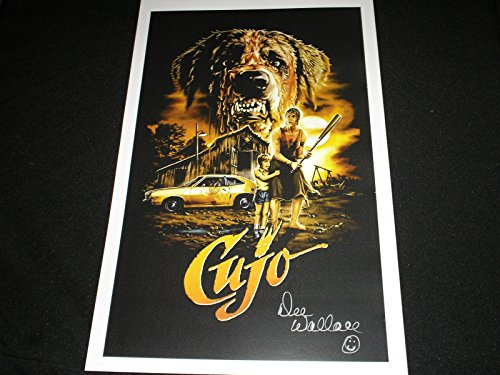 DEE WALLACE Signed 11x17 Movie Poster CUJO Autograph