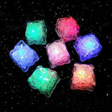 36 PCS IPX7 Waterproof Led Lighting Flashing Multi-Color Liquid Sensor Ice Cube Lights for Bar Club Drinking Party Wine Wedding Decoration