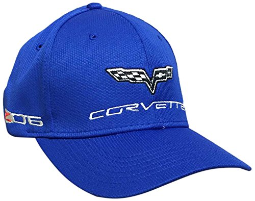 Corvette Blue Fitted Hat