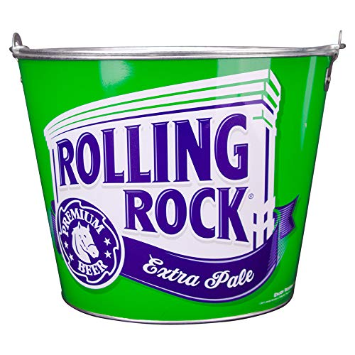 Beer Brand Full Color Aluminum Beer and Ice Bucket (Rolling Rock)