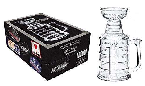 The Hockey Cup 25 oz Beer Stein Mug With Case