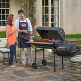 Char-Griller 1224 Smokin Pro 830 Square Inch Charcoal Grill with Side Fire Box