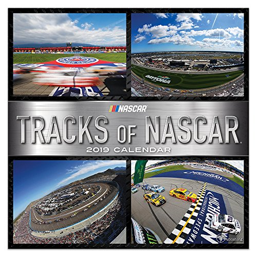 2019 Tracks of NASCAR Wall Calendar