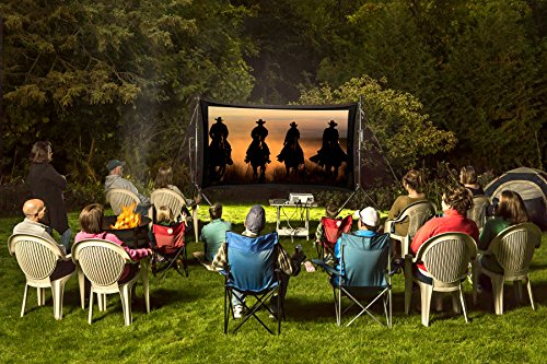 Recreation Series | Outdoor/Indoor Projecter, Projector Screen and Surround System Kit