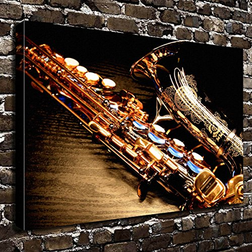 Wall Art Painting Saxophone Prints On Canvas