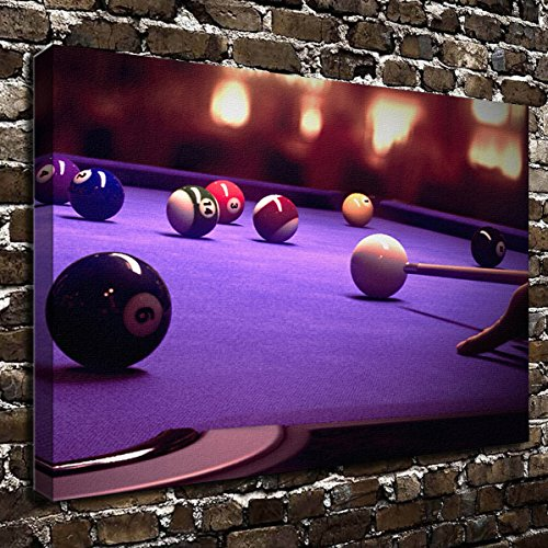 Wall Art Painting Billiards Prints On Canvas