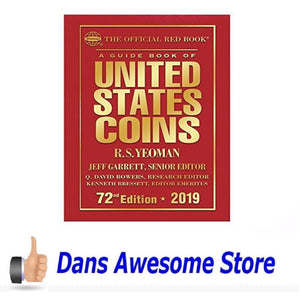 2019 Official Red Book of United States Coins - Hardcover - Dans Awesome Store