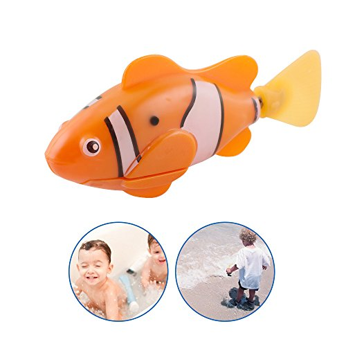 Vinmax Swimming Robot Fish Activated in Water Magical Electronic Toy Kids Children Gift - Dans Awesome Store
