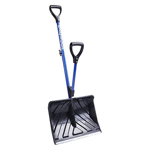 Snow Joe SHOVELUTION SJ-SHLV01 18-IN Strain-Reducing Snow Shovel w/ Spring Assisted Handle - Dans Awesome Store