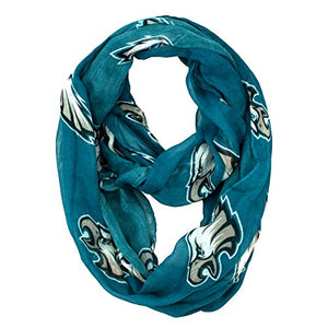 Littlearth NFL Philadelphia Eagles Sheer Infinity Scarf - Dans Awesome Store