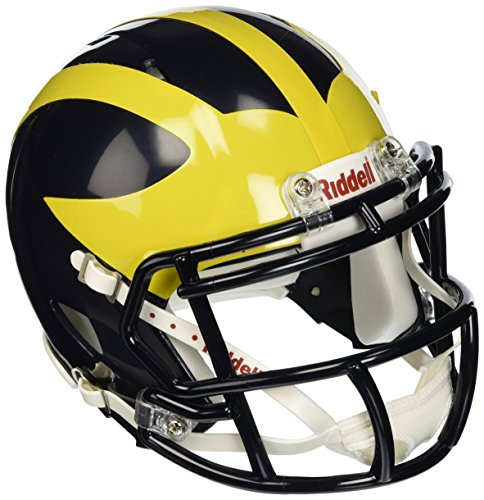 NCAA Michigan Wolverines Speed Mini Helmet - Dans Awesome Store
