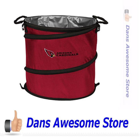 Arizona Cardinals Cooler, Hamper or Trash Can - Dans Awesome Store