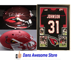 Arizona Cardinals David Johnson Autograph - Dans Awesome Store