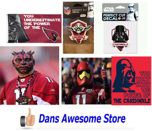 Arizona Cardinals Star Wars - Dans Awesome Store