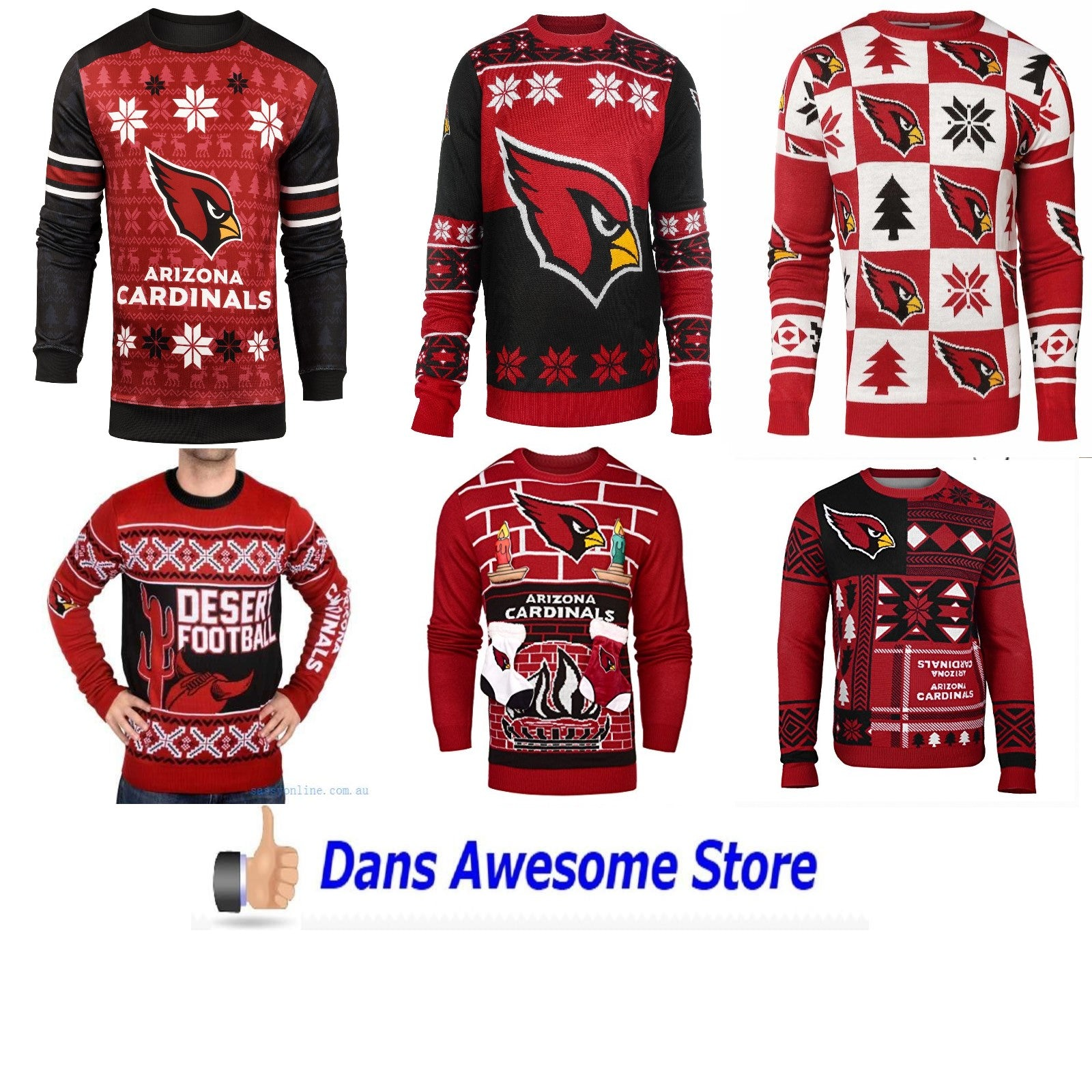 Arizona Cardinals Sweater - Dans Awesome Store