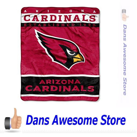 "Arizona Cardinals Throw Blanket, 60"" x 80"" - Dans Awesome Store"