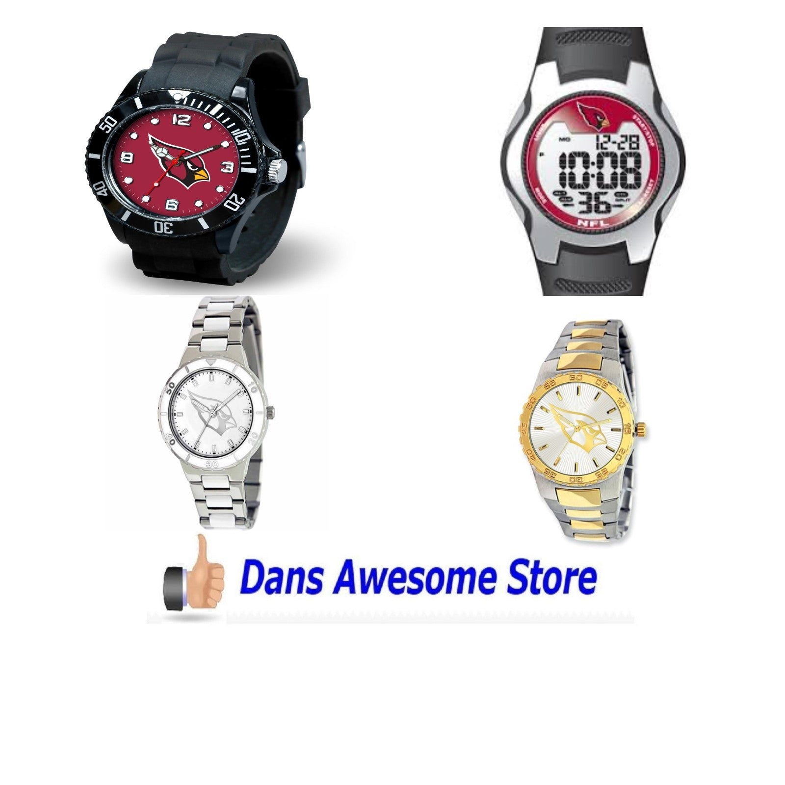 Arizona Cardinals Watch - Dans Awesome Store