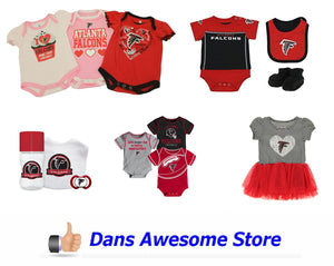 Atlanta Falcons Babies - Dans Awesome Store