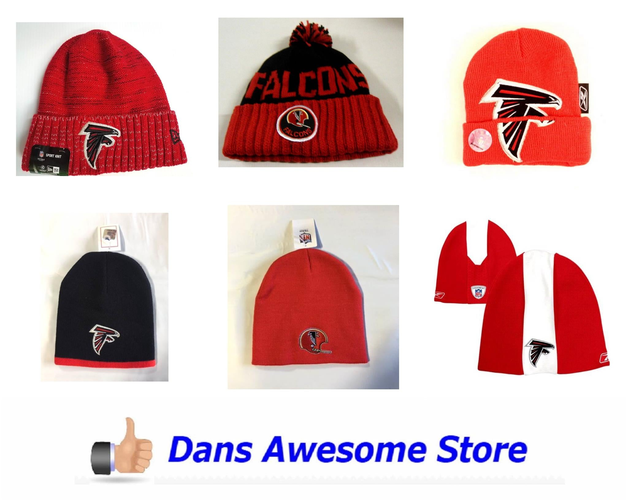 Atlanta Falcons Beanie Hat - Dans Awesome Store