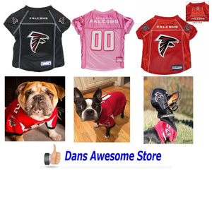 Atlanta Falcons Dog Jersey - Dans Awesome Store