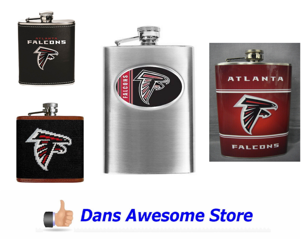 Atlanta Falcons Flask - Dans Awesome Store