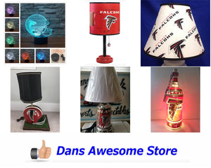Atlanta Falcons Lamp - Dans Awesome Store