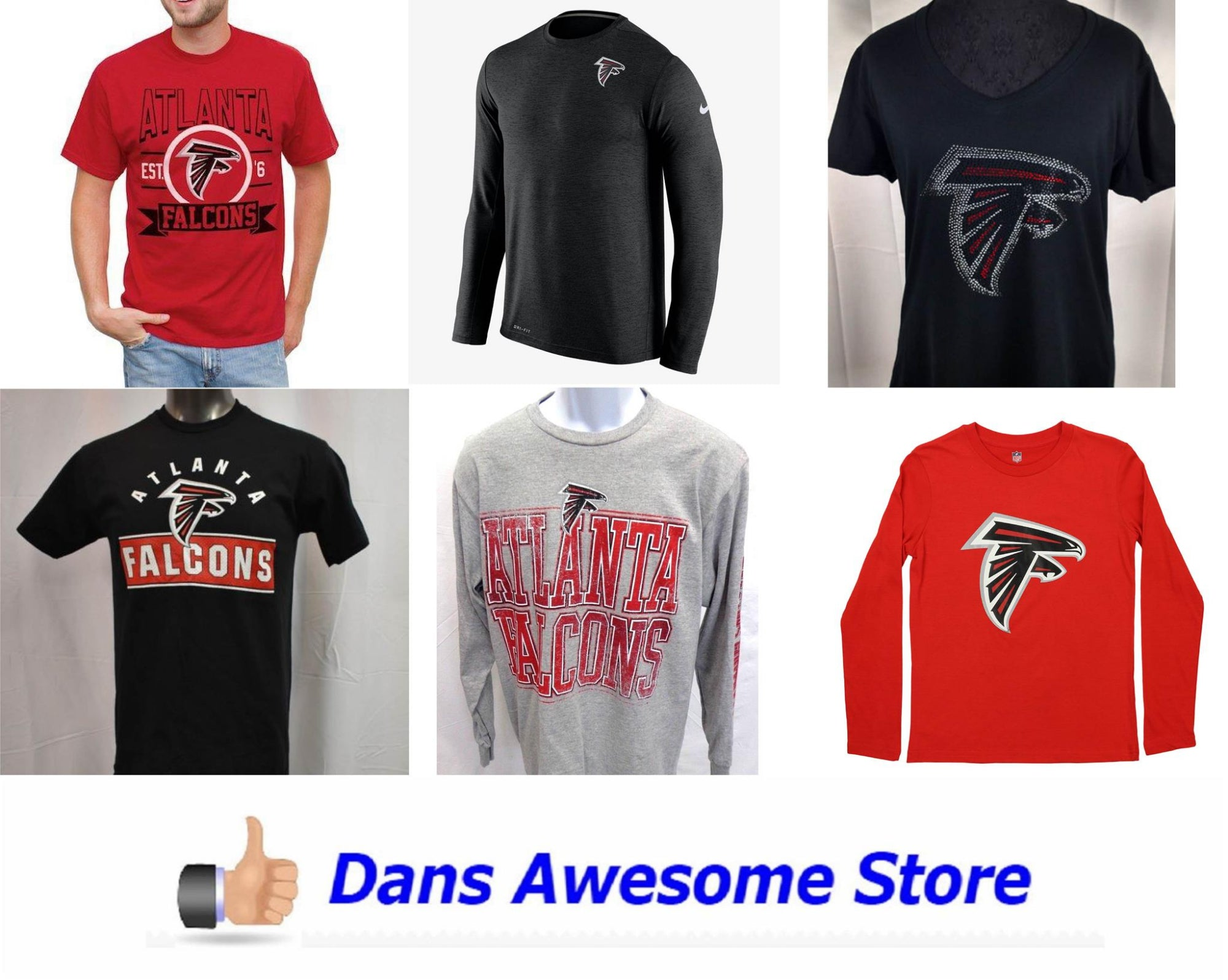 Atlanta Falcons Tee Shirt - Dans Awesome Store