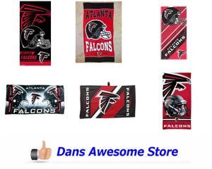 Atlanta Falcons Towel - Dans Awesome Store