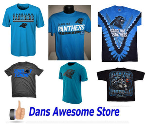 Carolina Panthers Tee Shirt - Dans Awesome Store