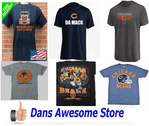 Chicago Bears Tee Shirt - Dans Awesome Store