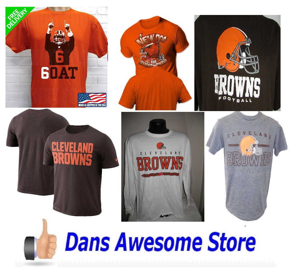 Cleveland Browns Tee Shirt - Dans Awesome Store