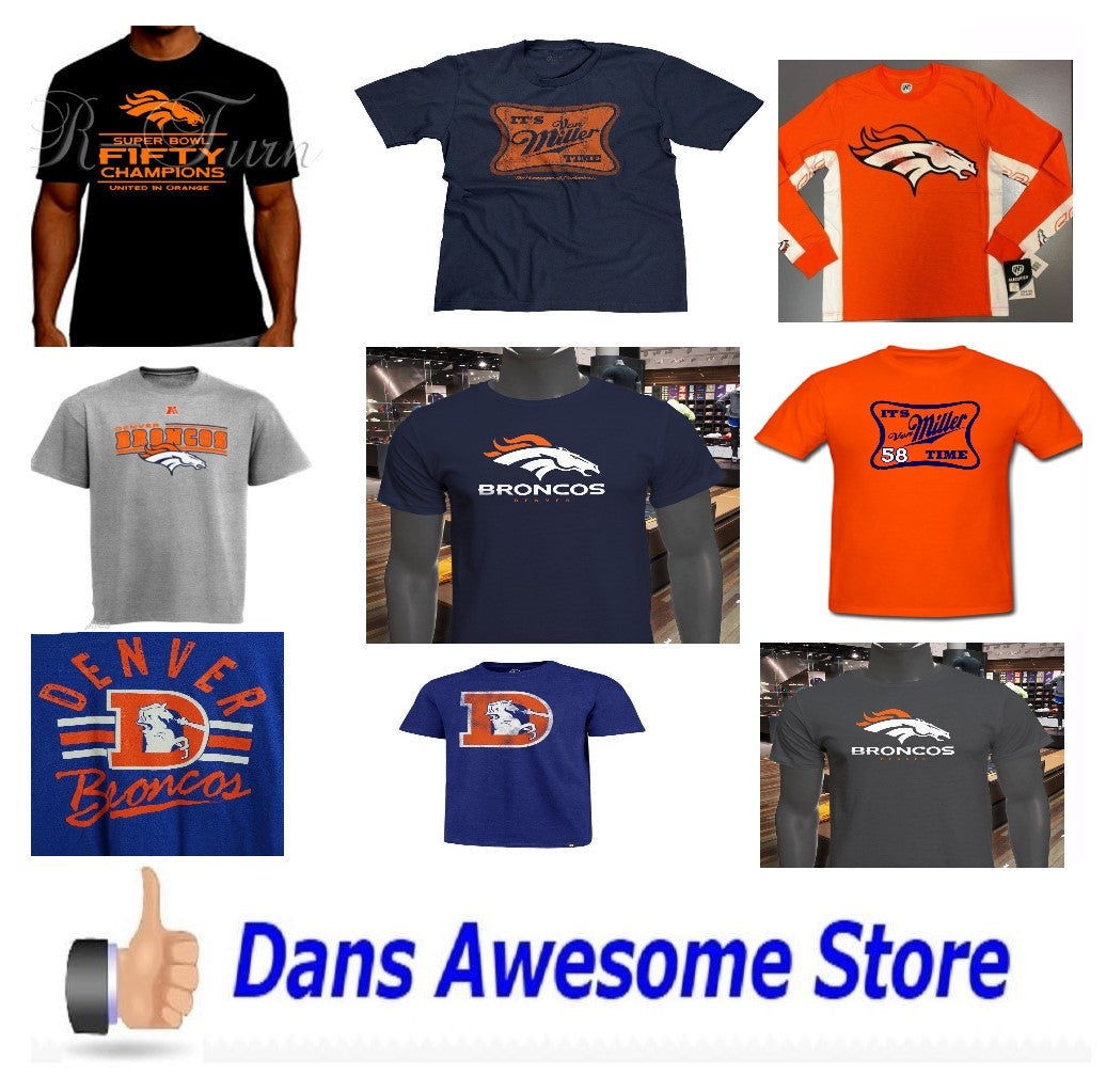 Denver Broncos Tee Shirt - Dans Awesome Store