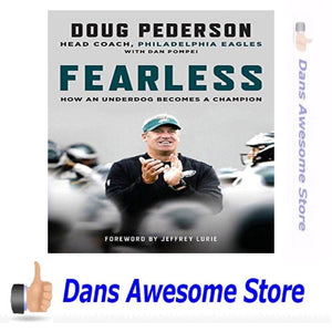 Fearless: How an Underdog Becomes a Champion - Dans Awesome Store