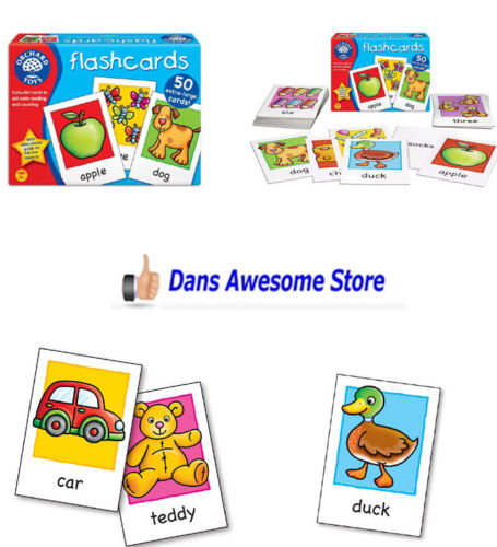 Flashcards Early Reading And Number Flash Card Educational Learning Toy for Kids - Dans Awesome Store